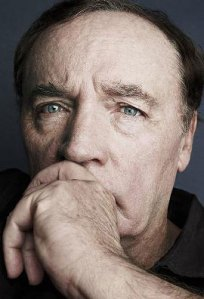 James Patterson striking a literary pose