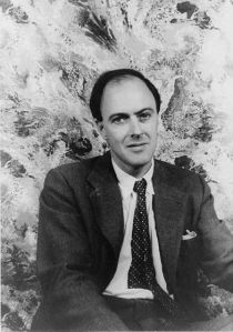 Roald Dahl as a young man