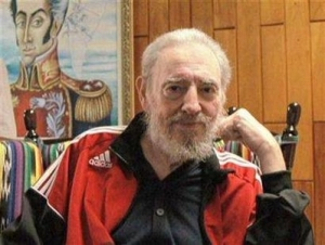 Fidel Castro is 83 years old