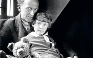 A.A. Milne, Christopher Robin, and the original Pooh Bear