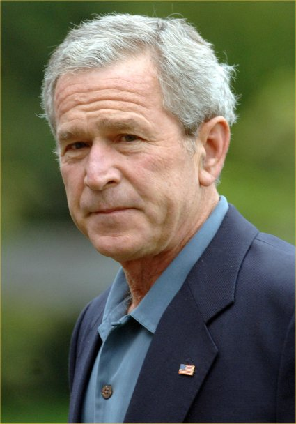 george walker bush biography