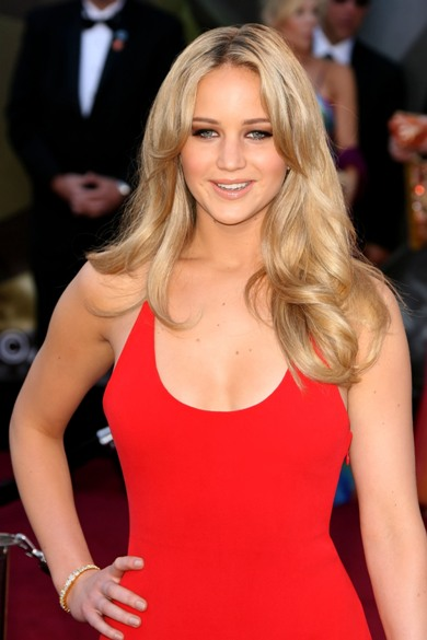 Jennifer Lawrence red